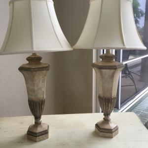 Faux Stone Lamps